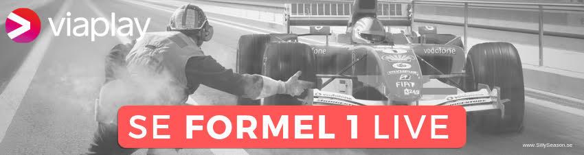 F1 TV-tider 2019 - se Formel 1 gratis på TV, live stream & TV-tablå Sverige!
