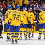 Sverige Finland hockey tv tider vilken kanal visar kvartsfinal ishockey VM
