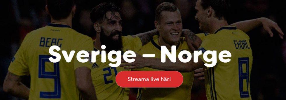 Sverige Norge TV tider – vilken tid börjar Sverige Norge