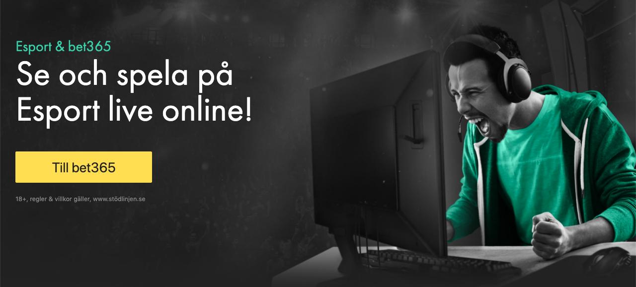 Esport TV-tablå & TV-tider - vilken tid sänds Esports på TV i Sverige?
