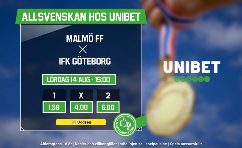 IFK Göteborg Malmö FF TV tider