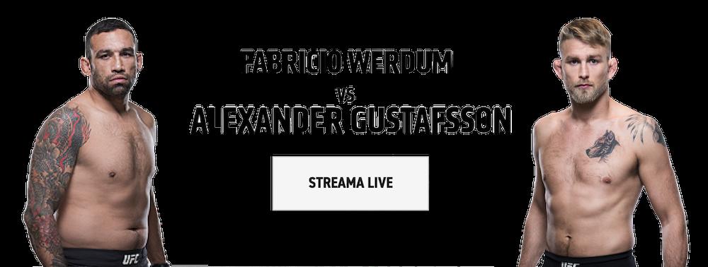 Vilken tid visas Gustafsson vs Werdum på tv? TV-tider för Mauler vs Werdum i Sverige!