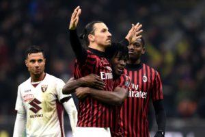 TV tider Milan Juventus