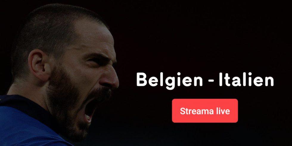 Belgien vs Italien EM TV – vilken tid visas Belgien Italien på TV?