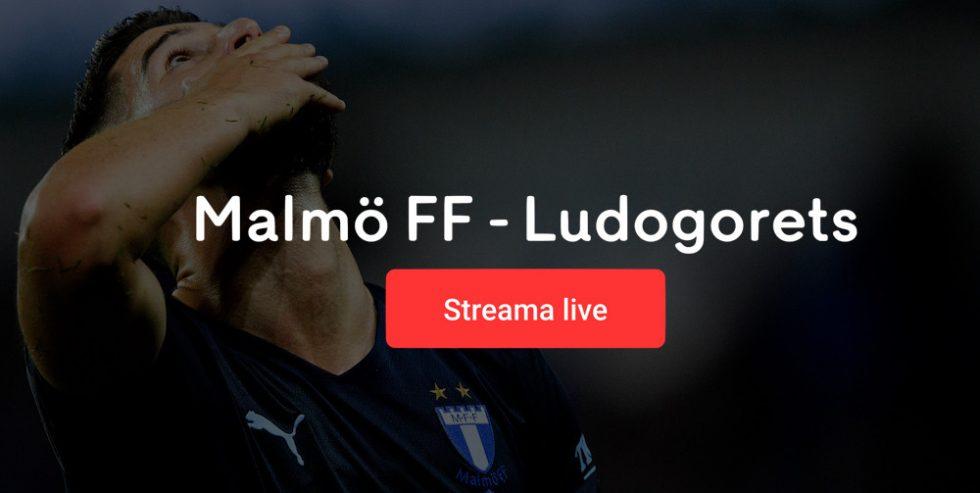 Malmö FF Ludogorets TV tider