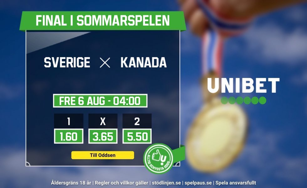 Sverige vs Kanada OS TV-tider